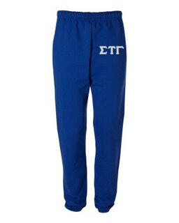 Sigma Tau Gamma Greek Lettered Thigh Sweatpants
