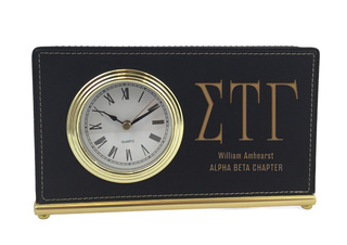 Sigma Tau Gamma Horizontal Desk Clock