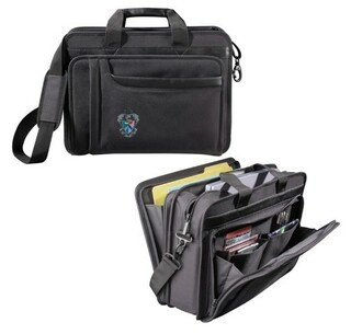 DISCOUNT-Sigma Tau Gamma Crest - Shield Briefcase Attache