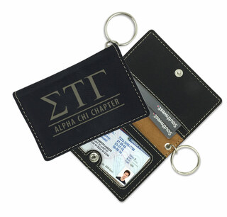 Sigma Tau Gamma Leatherette ID Key Holders