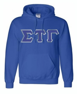 Sigma Tau Gamma Lettered Greek Hoodie- MADE FAST!
