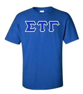 Sigma Tau Gamma Lettered T-Shirt