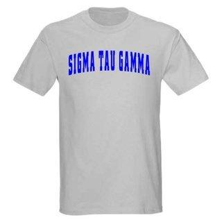 Sigma Tau Gamma letterman tee