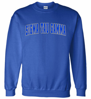 Sigma Tau Gamma Letterman Twill Crew