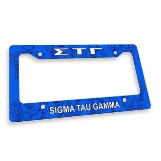 Sigma Tau Gamma Custom License Plate Frame
