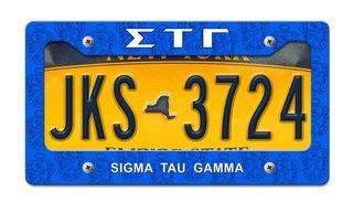 Sigma Tau Gamma License Plate Frame