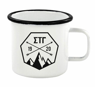 Sigma Tau Gamma Metal Camping Mug