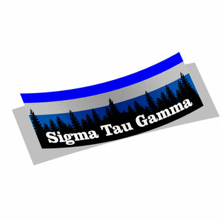 Sigma Tau Gamma Mountain Decal Sticker