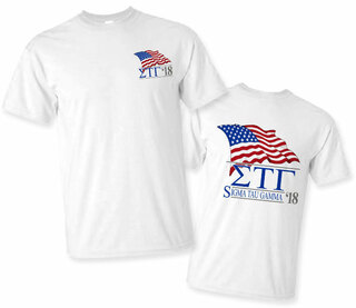 Sigma Tau Gamma Patriot Limited Edition Tee- $15!