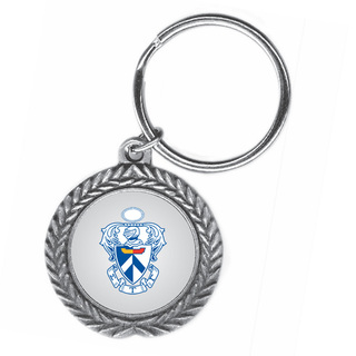 Sigma Tau Gamma Pewter Key Ring