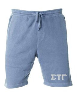 Sigma Tau Gamma Pigment-Dyed Fleece Shorts