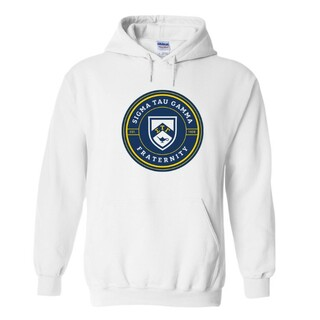 Sigma Tau Gamma Shield Hooded Sweatshirt