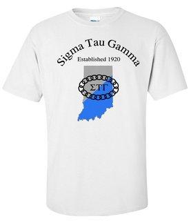 Sigma Tau Gamma State Flag T-shirt
