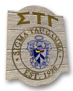 Sigma Tau Gamma Traditional Sign