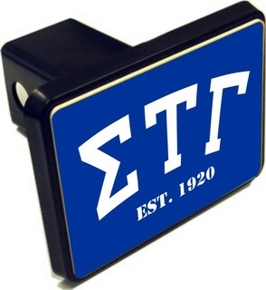 Sigma Tau Gamma Trailer Hitch Covers