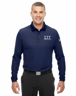 Sigma Tau Gamma Under Armour�  Men's Performance Long Sleeve Fraternity Polo