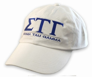 Sigma Tau Gamma World Famous Line Hat - MADE FAST!