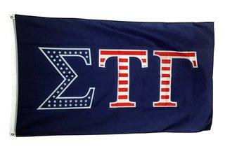 Sigma Tau GammaUSA Patriotic Flag