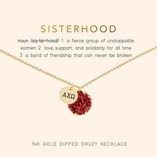 Sisterhood Druzy Necklace