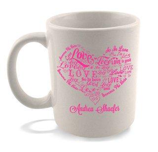 """So In Love"" Sorority Coffee Mug"