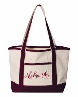 Sorority Sailing Tote Bag