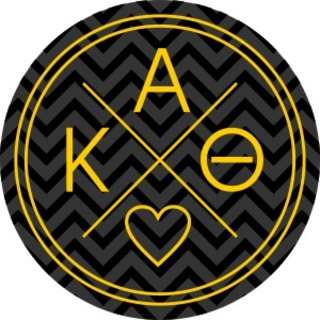 Sorority Balanced Sorority Mascot Round Decals