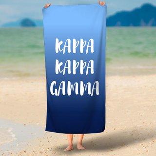 Sorority Beach Towel