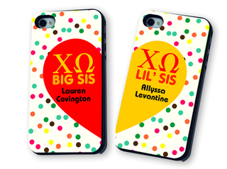 Sorority Big & Little Matching Phone Cases