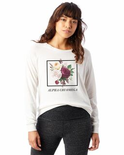 Sorority Bouquet Slouchy Eco-Jersey� Pullover