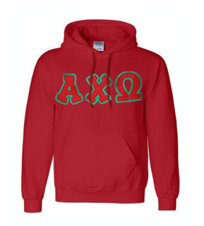 Sorority Bubble Hand Sewn Twill Hoodie