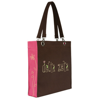 Sorority Canvas Tote Bag - Extreme Closeout