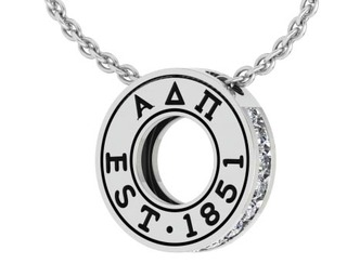 Sorority Circle Established Charm