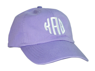 Sorority Circle Monogram Cap