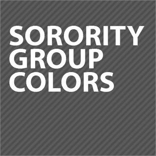 Sorority Colors