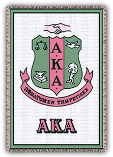Sorority Crest Afghan Blanket Throw