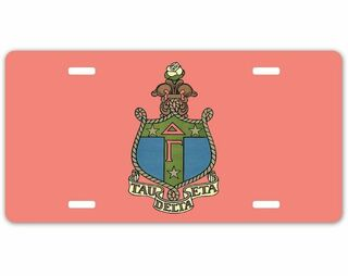 Sorority Crest - Shield License Plate