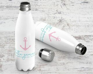 Sorority Established Stainless Steel Water Bottle