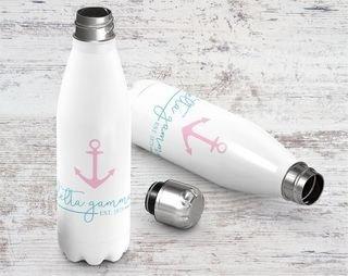 Sorority Established Stainless Steel Water Bottle