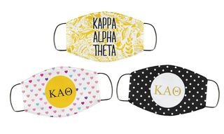Sorority Face Mask Trio Set