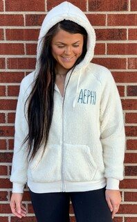 Sorority Fiona Sherpa Full Zip