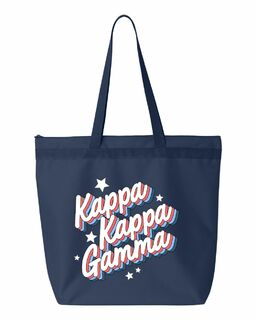 Sorority Flashback Tote Bag