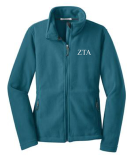 Sorority Fleece Full Zip Jacket