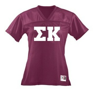 Sorority Football Jersey Tee