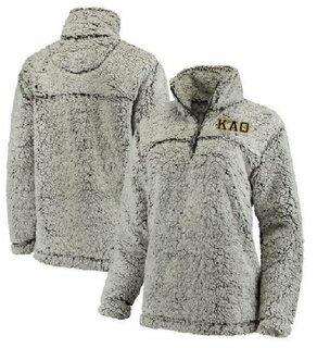 Sorority & Fraternity Sherpa 1/4 Zip Pullover