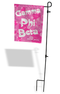 Sorority Garden Flag With Stand