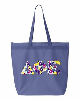 Sorority Greek Letter Liberty Bag