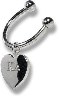 Sorority Heart Key Ring