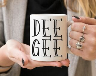 Sorority Inline Coffee Mug