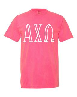 Sorority Comfort Colors Heavyweight T-Shirt
