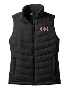 Sorority Ladies Mission Puffy Vest